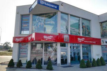 Showroom / prodejna / výdejní sklad nářadí Milwaukee